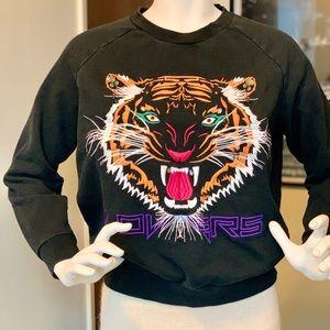 LOVERS + FRIENDS Tiger Jewel Sweatshirt Size S